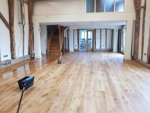 Oak flooring Suffolk